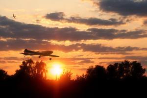 Antares im Sonnenuntergang