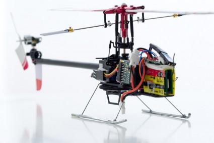 Walkera 4G3 mit Floh-Regler und 2g Motor