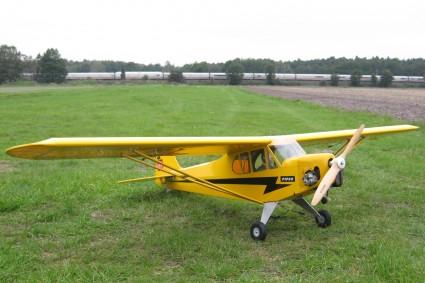Mit dem ZG 22 von Tony Clark ist die Piper masslos übermotorisiert