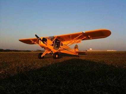 Piper Cub j3 von CMPro mit Saito twin